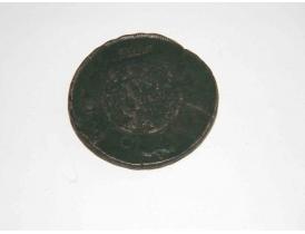 Одна копейка 1756 года