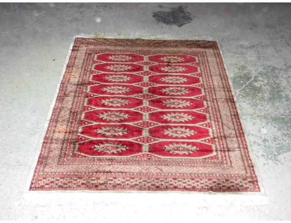 Шерстяной ковёр ручной работы 194 х 44 см, AM1179