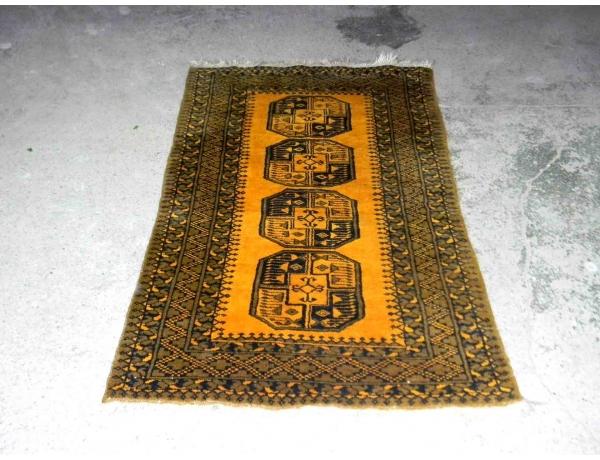 Шерстяной ковёр ручной работы 200 х 120 см, AM1217