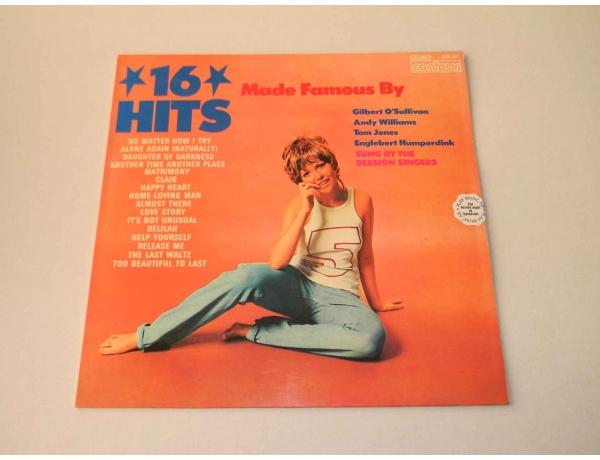 Виниловая пластинка 16 HITS, AM0844