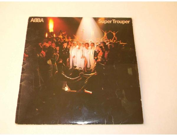 Vinüülplaat ABBA Super Trouper, AM0845