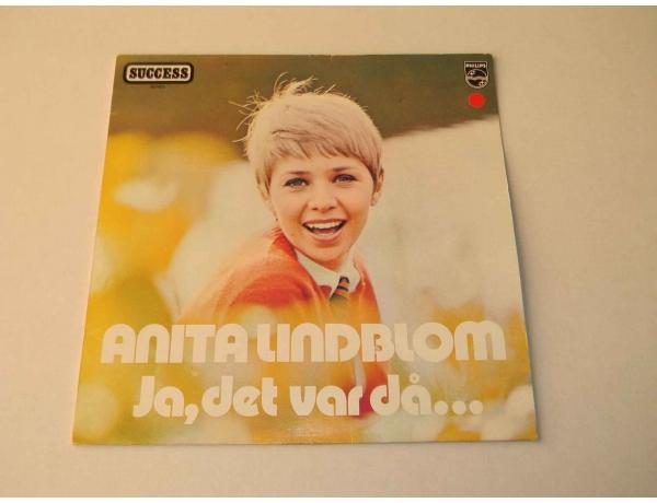Виниловая пластинка Anita Lindblom, AM0847