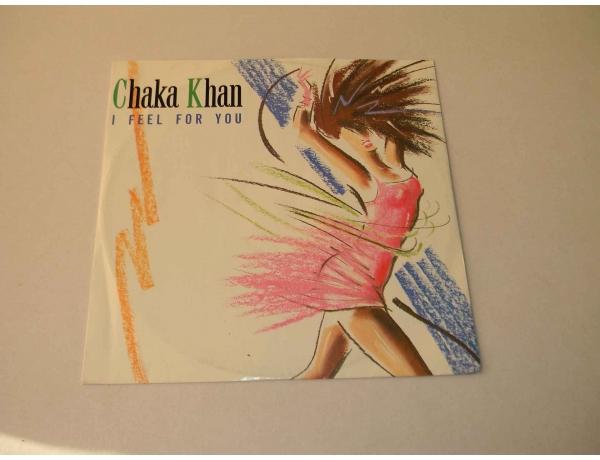 Vinüülplaat Chaka Khan I feel fpr you, AM0856