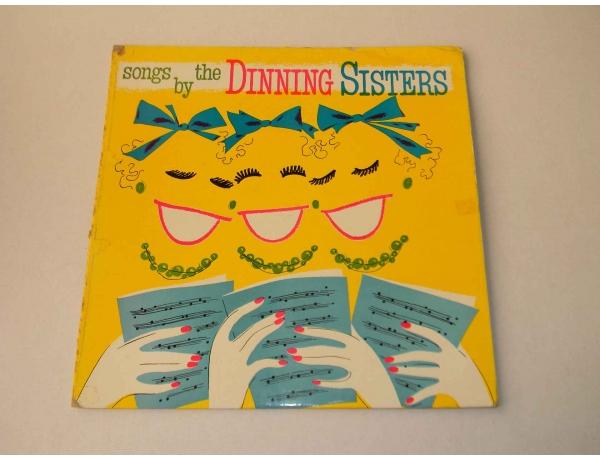 Виниловая пластинка Dinning sisters songs, AM0859