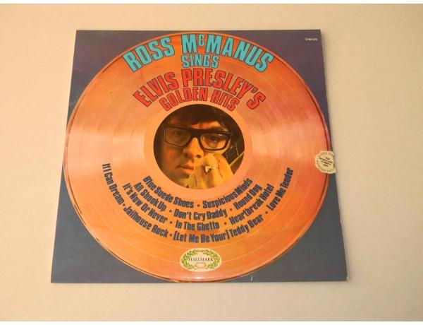 Виниловая пластинка Elvis Presleys Golden HITS, AM0861