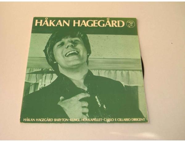 Vinüülplaat Hakan Hagegard, AM0872