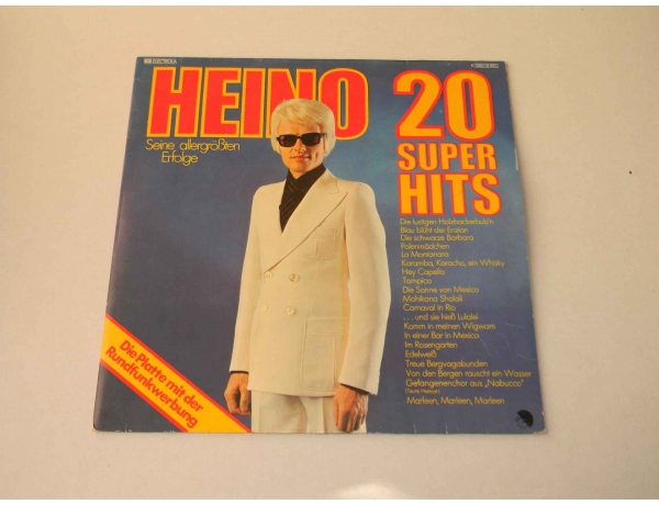 Vinüülplaat HEINO 20 super hits, AM0873