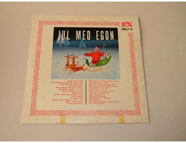 Vinüülplaat Jul med egon, AM0878