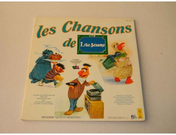 Виниловая пластинка les Chansons, AM0886