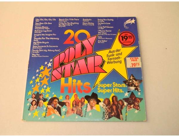 Виниловая пластинка Poly Star 20 hits, AM0896